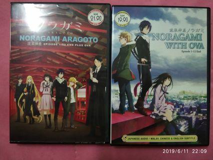 Noragami S1 & S2 DVD