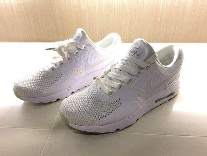 🚚 Nike Air Max 白 慢跑鞋 US9 Nike Air Max Zero QS 保證正品 正品 全白