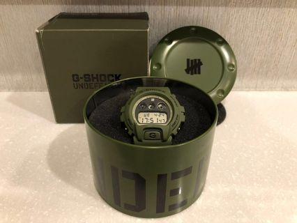 🚚 G-Shock UNDEFEATED 6900 30週年 軍綠 聯名 DW-6901UD-3DR 限量
