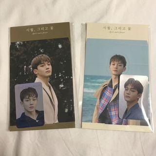 wts chen holographic pc + standee set