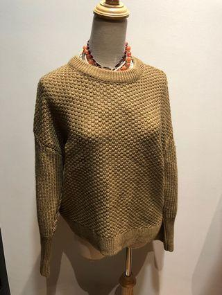 Topshop chunky knitted sweater