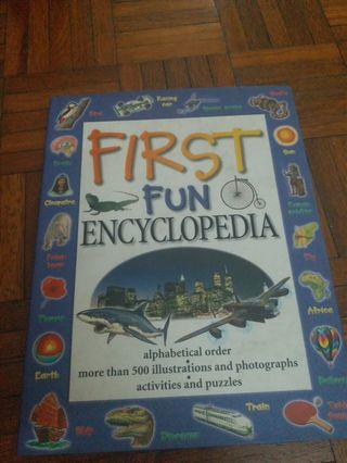 First fun children's encyclopedia