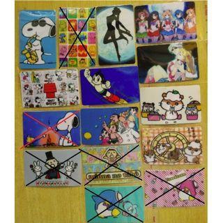 [PP2] 卡通貼紙 八達通貼紙 Octopus Sticker