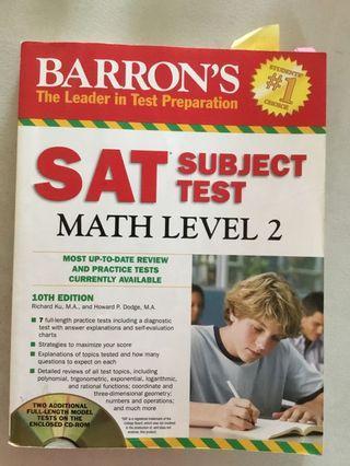 Barron's SAT Math Level 2