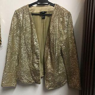 H&M sequin Blazer