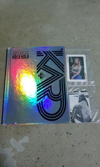 🚚 WTS Kard 1st mini album w PCs🌸