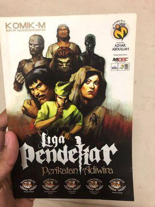 Komik liga pendekar | comics malaysia