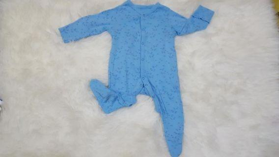 Blue Sleepsuit Mothercare