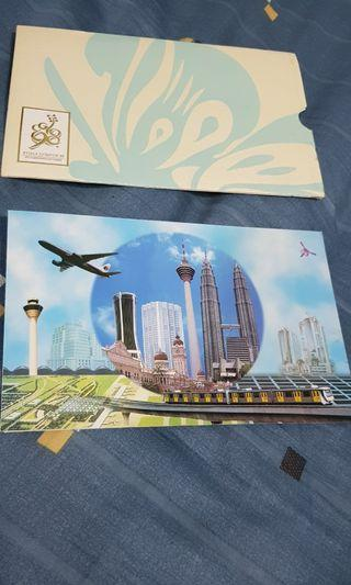 KL98 XVI Commonwealth Games RM50 Commemorative Polymer Banknote