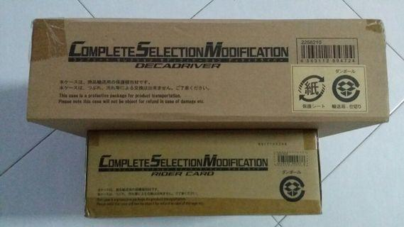 CSM Complete Selection Modification DecaDriver set