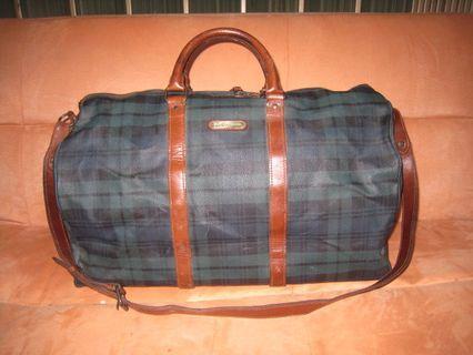 POLO RALPH LAUREN original bahan kulit asli tas travell