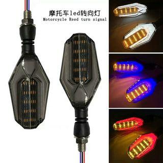 Led Signal Light (Red & Blue) flashing or non flashing