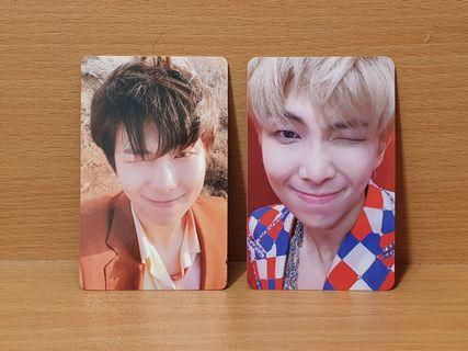 Bts love yourself tear and answer namjoon official photocard