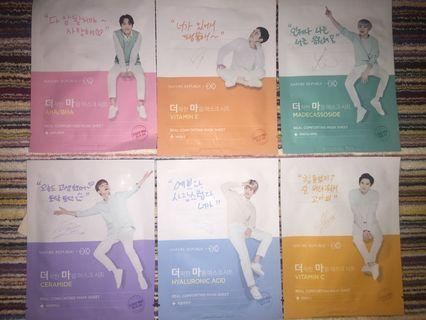 NATURE REPUBLIC REAL COMFORTING MASK SHEET EXO EDITION