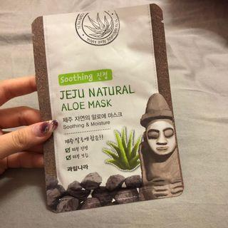 JEJU NATURAL ALOE MASK - SOOTHING & MOISTURE