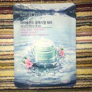 Nature Republic Iceland Watery Mask Sheet