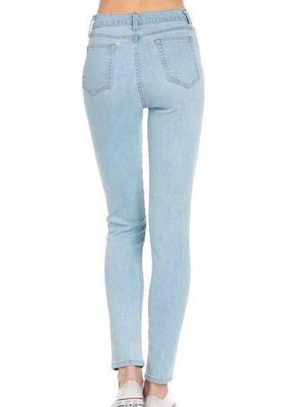 Pull & Bear light washed Denim skinny jeans