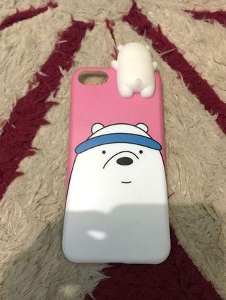 Case iPhone 7/8 Bare Bears