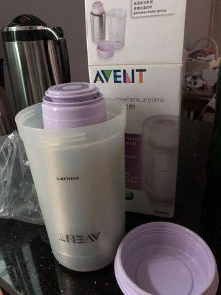 🚚 Avent thermal warmer flask