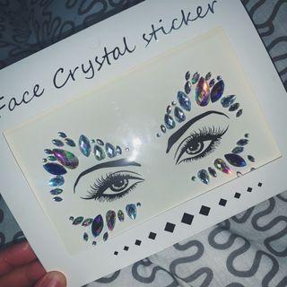 Face Gem Jewel Rhinestone Makeup