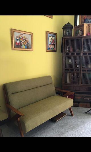 Green Sofa Kimono Relax