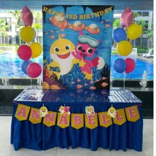 Birthday Party Decorations setup for rent from $63.80