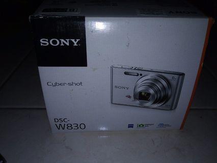 Sony cybershort Dsc-w830