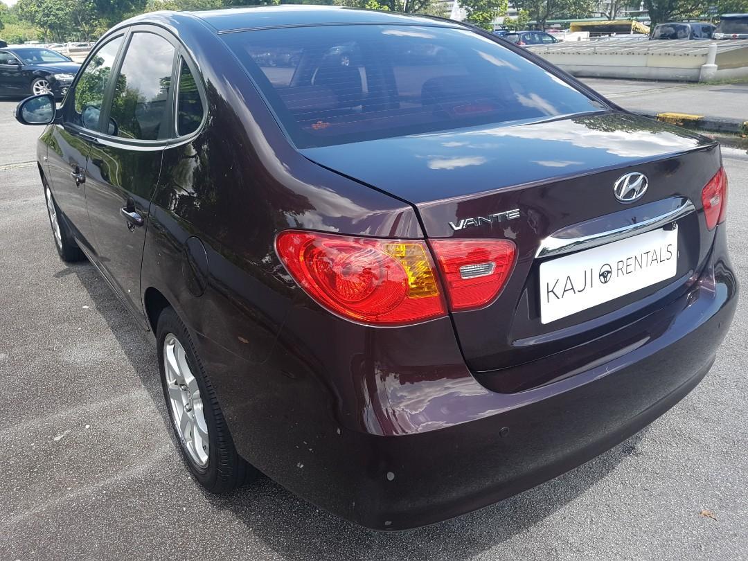 [$325/week ] Hyundai Avante 1.6A Available for Long Term leasing!