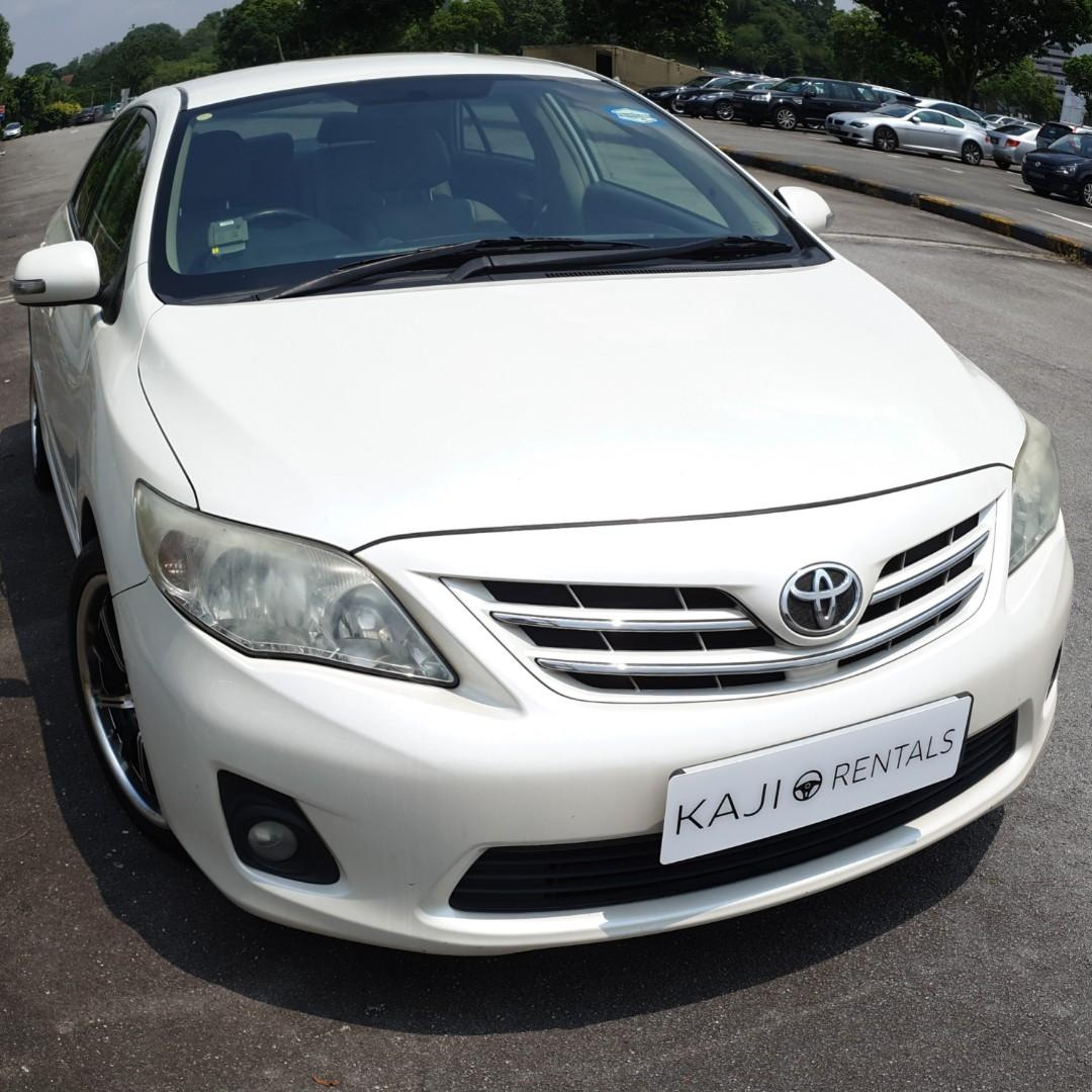 [$350/week] Toyota Altis Available for Long Term Leasing!!