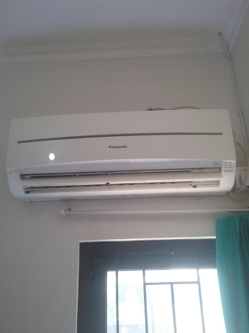AC PANASONIC ECO SMART 1/2pk (bekas) CS-KC5NK J (320 low watt)