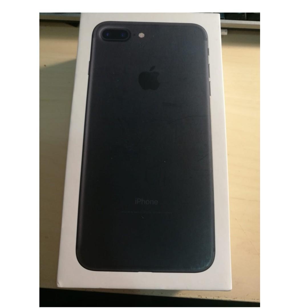 Apple iPhone 7 Plus 256GB Matt Black