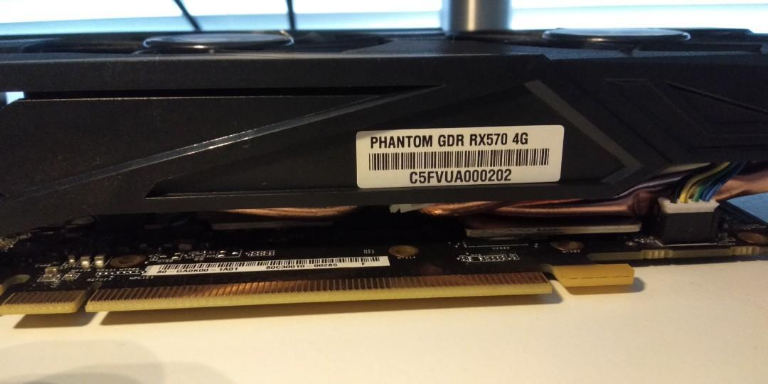 Asrock Radeon RX 570 4GB DDR5 OC
