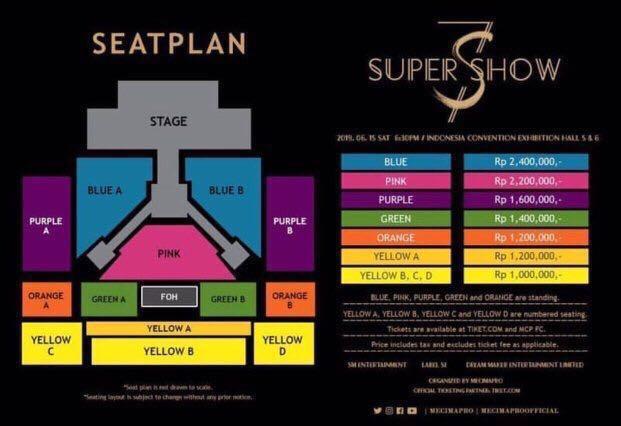 [BANTING HARGA!!!] Tiket Super Show 7S Jakarta 2019
