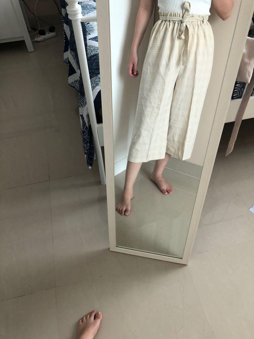 BELI 2 Lebih MURAH. Celana cullote , celana karet , kulote , kulot , celana kotak , celana karet , celana jalan , celana murah , celana panjang  MASIH BARU