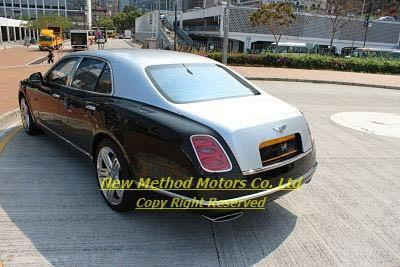 BENTLEY MULSANNE V8 2012/2013