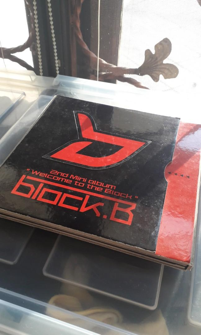 BLOCKB - WELCOME TO THE BLOCK LIMITED EDITION