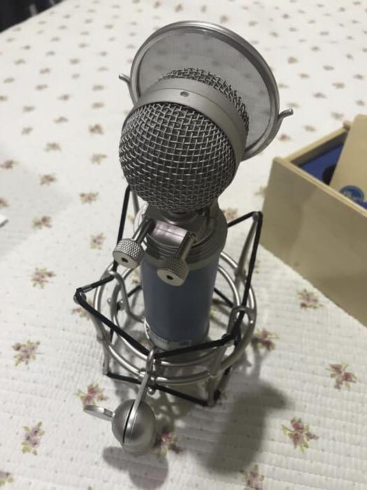 *FINAL OFFER* Bluebird Cardioid Condenser Microphone with Pop Filter and Shock Mount
