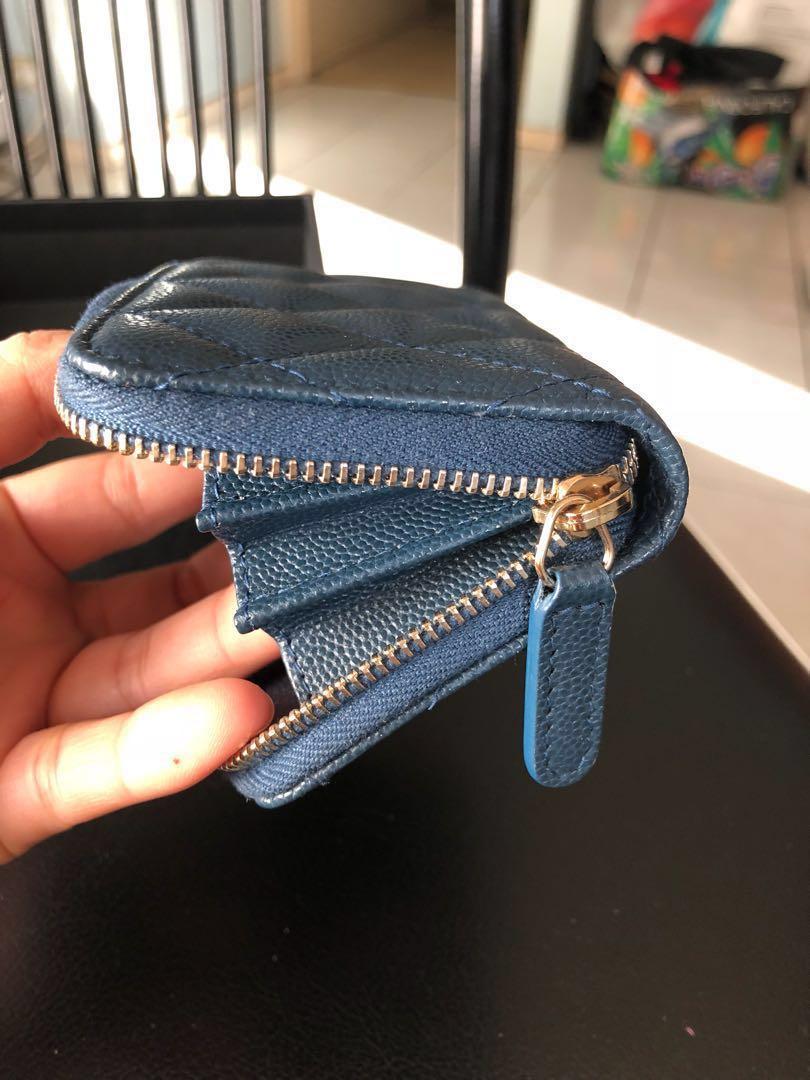 BNIB Chanel Zippy Cardholder