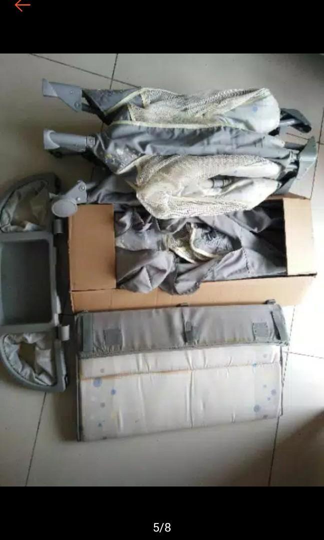 Box bayi/baby cot/ ranjang bayi Ingenuity by Bright Starts