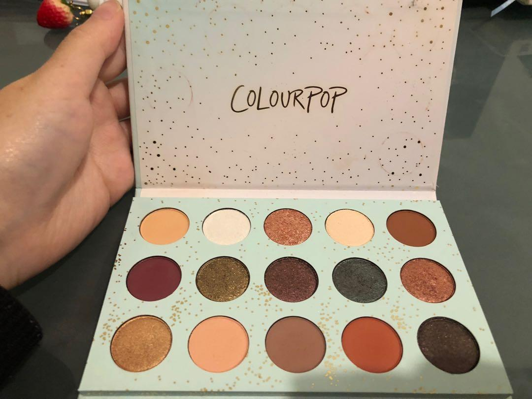 Brand new color pop palette all I see is magic