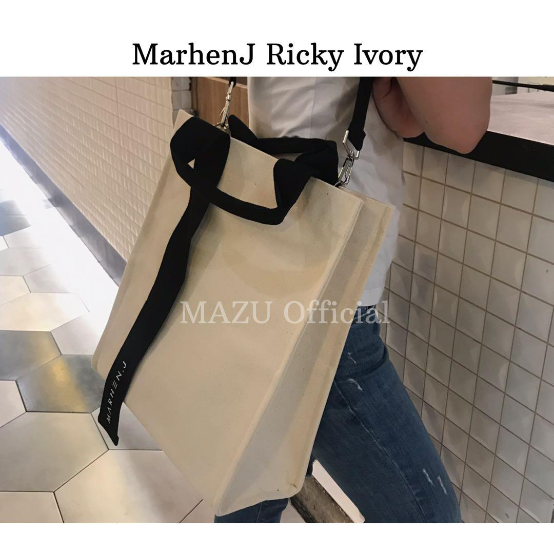 Brand new marhenJ korean bag ricky ivory