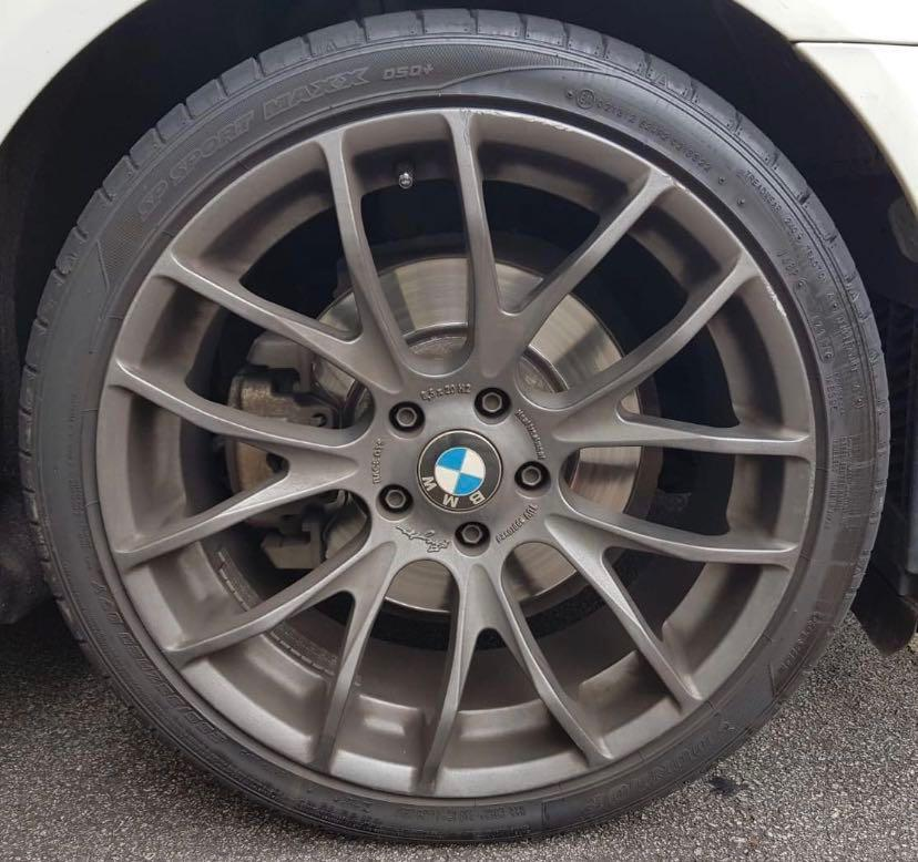 "Breyton GTS-Race 20"" BMW 5-Series / F10 with tires"