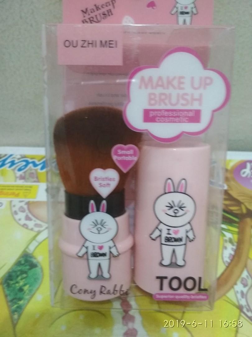 Brush line character brush browny brush cony brush sally