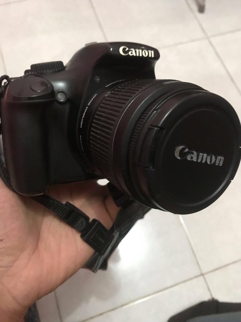 BUC dijual kamera canon 1100d bonus hp sony ericsson
