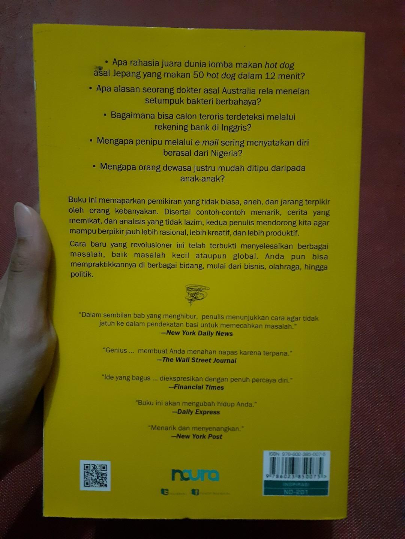 Buku Think Like a Freak  - Steven D. Levitt & Stephen J. Dubner