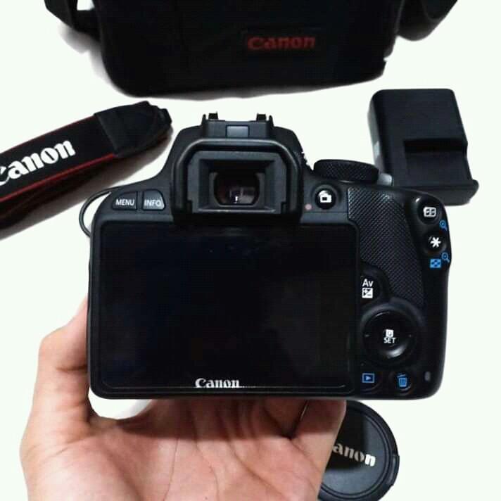 Canon Eos 100d lensa kit