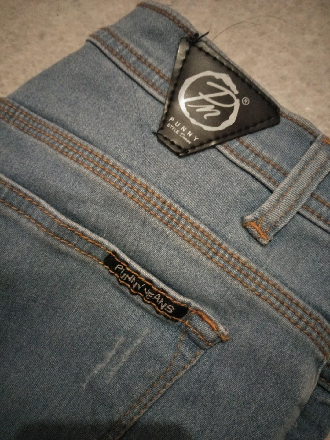 Celana Jeans ripped punny