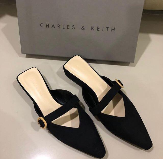Charles and Keith Suede