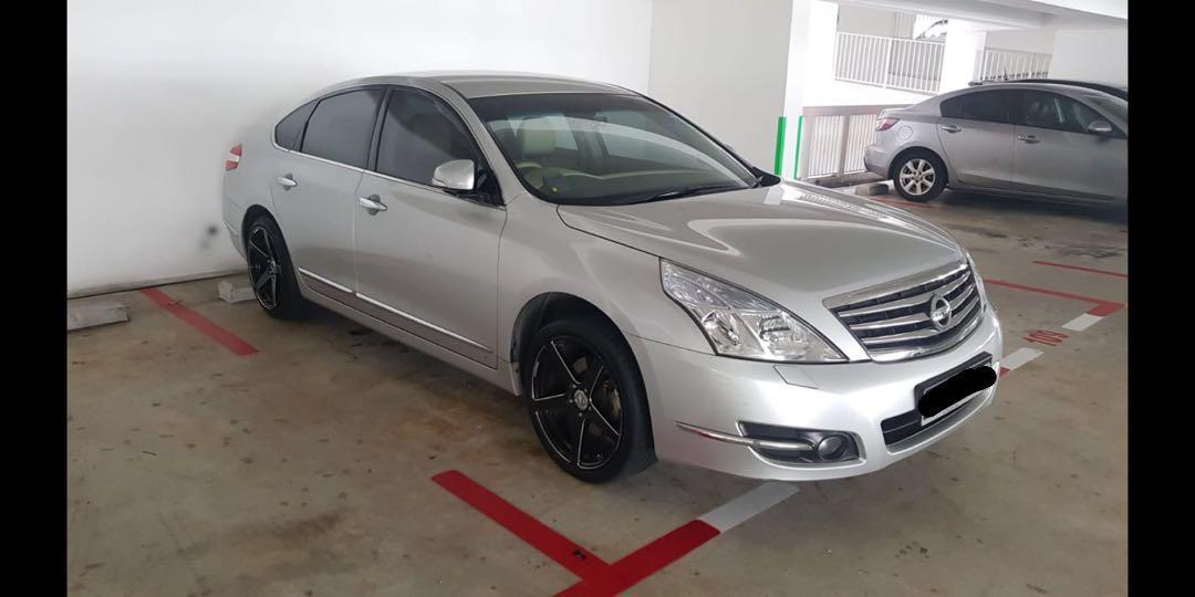 Cheap Car Rental - Nissan Teana Grab/ Gojek/ Private Usage