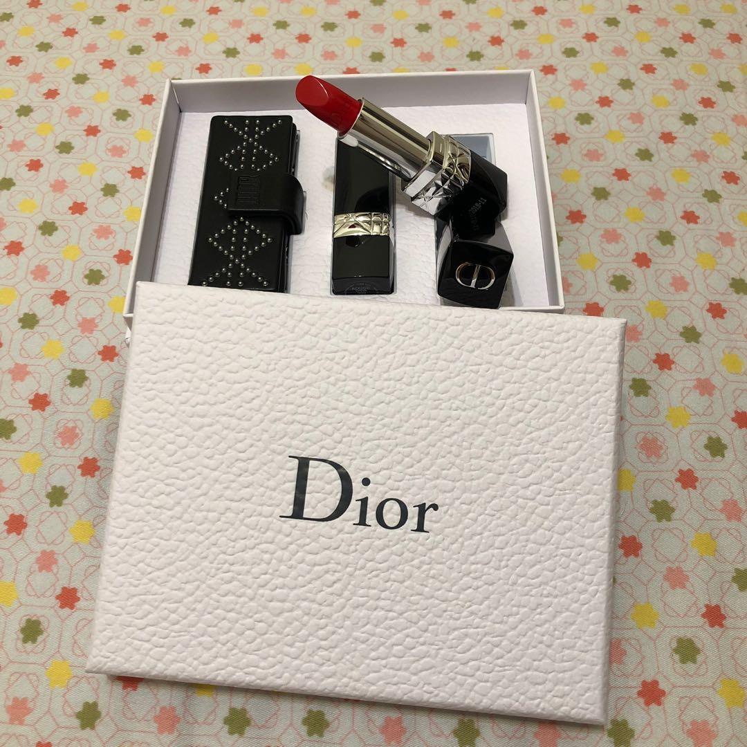 Dior藍星訂製唇盒&唇膏組